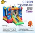 HAPPY HOP 9070N PARTY SLIDE BOUNCER JUMPING CASTEL